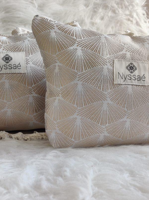 Pochette artisanale Nyssaé Skincare