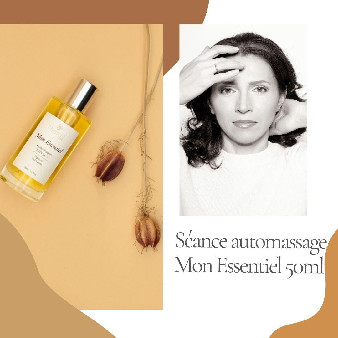 Nyssaé skincare huile d'argan bio et pure cheveux