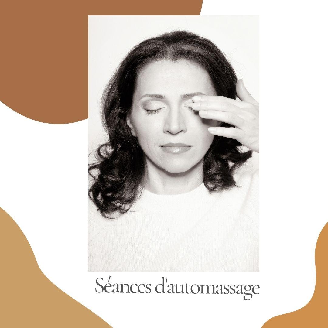 Séance d'automassage et de yoga du visage privée