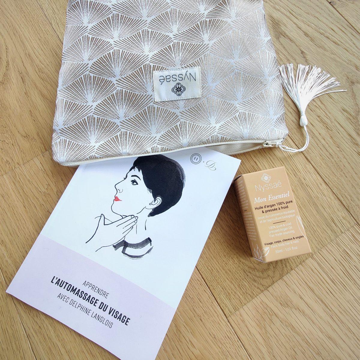 Collaboration avec Delphine Langlois_Nyssaé Skincare