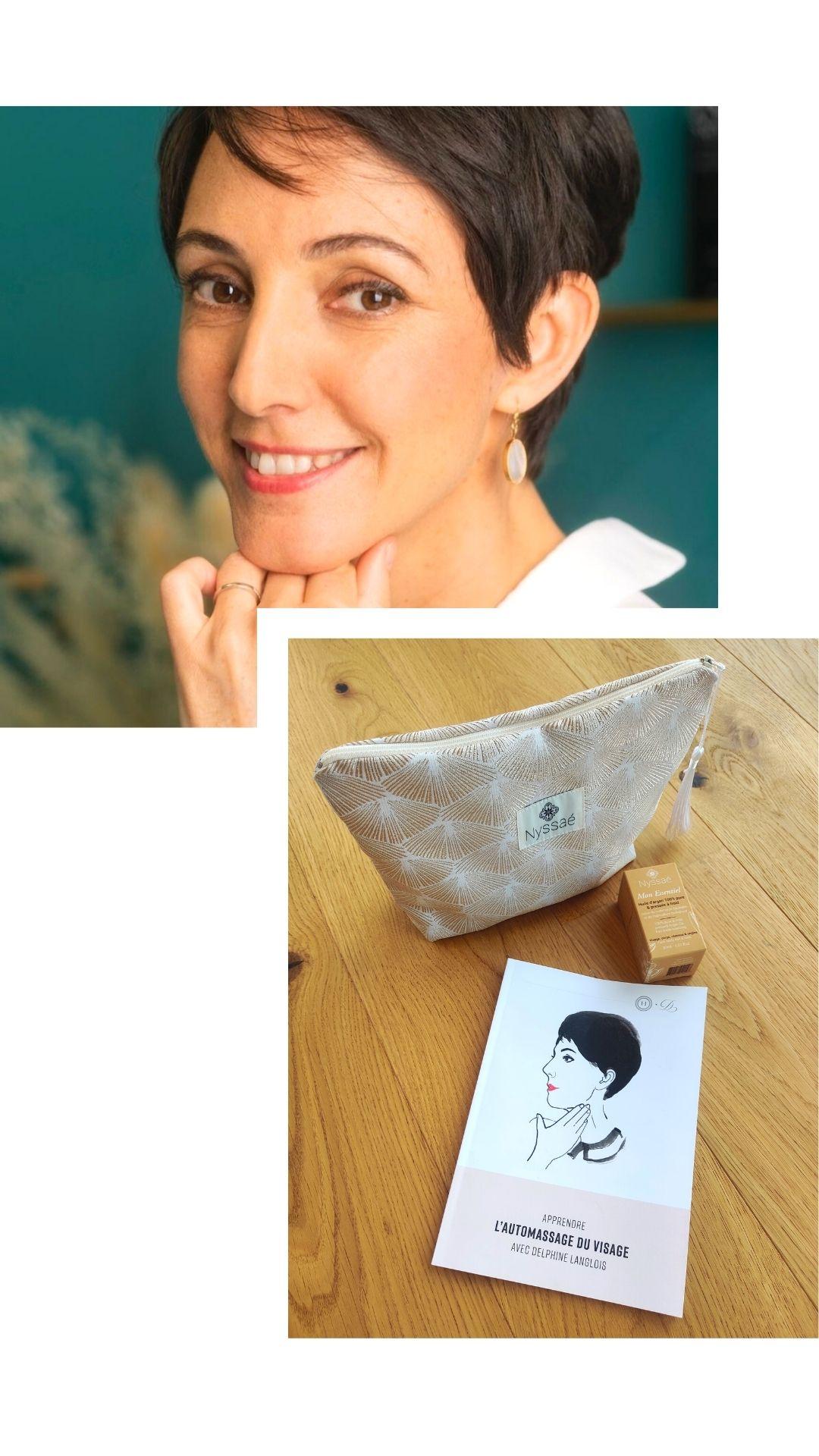 Delphine Langlois et Nyssaé Skincare
